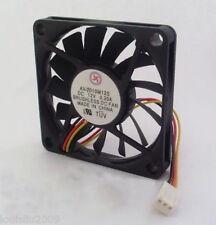 1pc Brushless DC Cooling Fan 13 Blade 12V 70mm 70x70x10mm 7010 3 wires