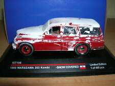 Ixo iST 1960 Warszawa 203 Kombi snow covered vereist 1:43 IST186 Limited Edition
