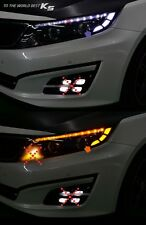 LED Head Side Reflector DIY Kit Module Sequential 2way For 14 15 Kia Optima : K5