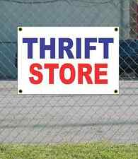 2x3 THRIFT STORE Red White & Blue Banner Sign NEW Discount Size & Price