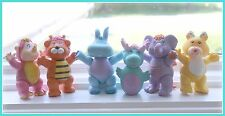 """❤Disney WUZZLES 1985 Set Collection of 6 Poseable 4"""" Figures Lot ~ COMPLETE❤"""