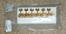 Fender® Gold Vintage Tuners RH Strat/Tele With 10mm Bushings & Screws Brand New