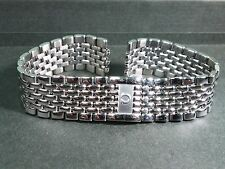 Omega stainless steel watch band 1451-1391 with clasp, 18mm