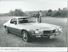 Chevrolet Camaro SS Coupe 1971 Original Press Photograph Excellent Condition