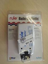Rule Rule-A-Matic Plus  Mercury Free Float Switch 40A boat bilge pump float