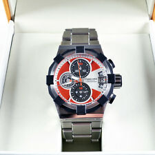 Concord C1 Chronograph Stainless Steel 44mm Dial Men's Sports Watch # 0320004