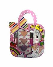 New Kids Girls Make up Tote My First Makeuo Tote Comestic Paper Handbag Set Gift