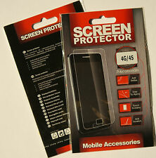 (PRL) iPHONE 4 G S SCREEN PROTECTOR SCHERMO PROTEZIONE ANTI REFLEX SCRATCH TOUCH