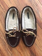 Sperry top sider fleece lined loafer women's Flats US 9