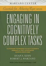 Engaging in Cognitively Complex Tasks : Classroom Techniques to Help Students...
