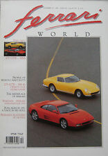 Ferrari World magazine Issue 10, January/February 1991 257 BGT, 348 tb