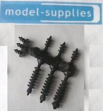Dinky 908 antar reproduction transformateur en plastique noir pylônes (ensemble de 7)