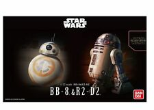 BANDAI Star Wars BB-8 & R2-D2 model kit 1/12 Scale The Force Awakens