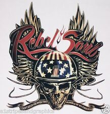Harley Kid Rock Rebel Soul Full color Decal Sticker Graphics Decals Stickers HD