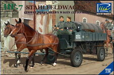Riich RV35043 1/35 HF.7 Stahlfeldwagen German Horse Drawn Wagen (2 Figures)