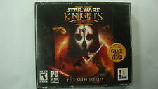 Star Wars: Knights of the Old Republic II -- The Sith Lords (PC, 2005)