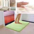40*60cm Memory Foam Bath Mats Bathroom Stripes Horizonta Rug Non-slip Bath Mats
