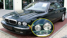 NEW PREMIUM CHROME HEAD LIGHT TRIMS for JAGUAR XJ X350 X358 XJR XJ6 XJ8 03-09