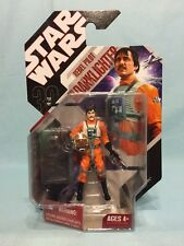 Star Wars 30th ANH Rebel Pilot Biggs Darklighter W/ Stand #14 MOSC