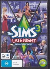 The Sims 3: Late Night - PC MAC - expansion pack - fast free post nite