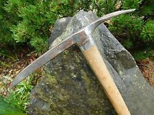VTG Andenmatten Piolet Old Swiss Army WW2 Wooden Handle Ice Axe MABKE MISCHABEL