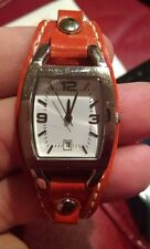 Faded Glory Ladies Watch with a tan Leather Band