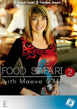 FOOD SAFARI - SERIES 2 WITH MAEVE O'MEARA - BRAND NEW & SEALED REGION 4 DVD 2008