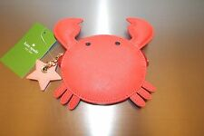Authentic NWT Kate Spade Make A Splash Crab Coin Purse