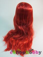 Factory Neo Blythe Doll Scalp & Dome Bangs Tulip Red Hair #H012