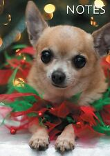 A6 Small Christmas Notepads for Shopping List & Ideas Chihuahua Dog Freepost!