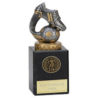 FOOTBALL BOOT TROPHY MAN OF THE MATCH AWARD 15cm FREE ENGRAVING 137C.FX005