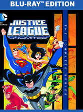 Justice League Unlimited: The Complete Series - 3 D (2015, REGION A Blu-ray New)