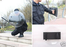 Round Polycarbonate Anti-Riot Shield for Police Tactical CS Campus Security