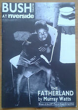 The Fatherland programme Bush Theatre at Riverside 1989 Jude Akuwudike