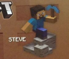 Minecraft Craftables Buildable Steve Series 1 Sealed Unopened in Box