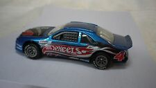 2002 Hot Wheels Blue Race Team Tbird Stocker Custom Real Riders
