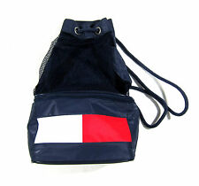 VTG 90S TOMMY HILFIGER BACKPACK COOLER SPORT OUTDOOR NYC FLAG USA 1992 POLO