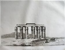 ACHMOUNEYN (HERMOPOLIS MAGNA).(pl. 51, A. vol. IV). Vue d... DESCRIPTION EGYPTE