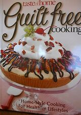 Taste of Home Guilt Free Cooking new hardcover Delicious recipes