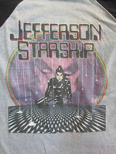 Vintage Original JEFFERSON STARSHIP 1981 Concert Shirt Size Lg True Vintage