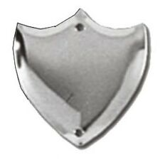 Trophy Side Shield (S022) - Silver / Chrome / (Metal) - With Free Engraving