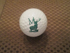 "LOGO GOLF BALL-MEDMARC AND THE HARTFORD FINANCIAL..""M"" WITH BUCK LOGO"
