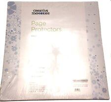 """Creative Memories 12x12 True Page Protectors 15 + 1 sheets NIP 12"""" x 12"""""""