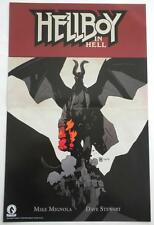 SDCC 2016   HELLBOY In Hell / HELLBOY B.P.R.D 1953    2 Sided Poster 11 x 17