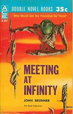 ACE DOUBLE: MEETING AT INIFINITY - Brunner/BEYOND THE SILVER SKY - Bulmer