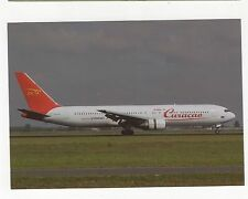Dutch Caribbean B-767-330ER at Amsterdam Aviation Postcard, A649
