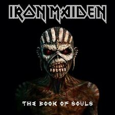 IRON MAIDEN - The Book of Souls (CD, 2015, 2 Discs) +2 free promo CDs