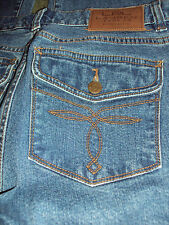 LRL Lauren JEANS CO. BY RALPH LAUREN LOT OF 2 WOMENS JEANS SIZE 4P EUC BOOT CUT