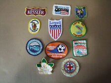 CLOTH  PATCHES:  MISC. LOT OF 11 PATCHES: SOME NEW, SOME WORN