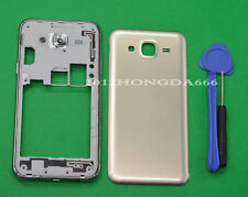 For Samsung Galaxy J5 SM-J500 Gold Housing Middle Frame+Battery Cover Parts
